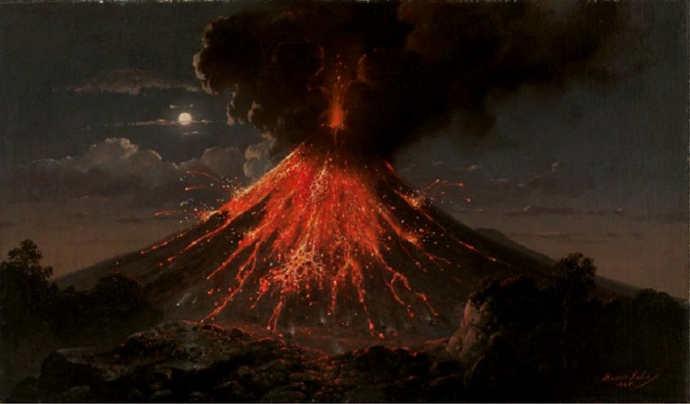 Raden_Saleh_-_Merapi_volcano,_eruption_at_night,_1865